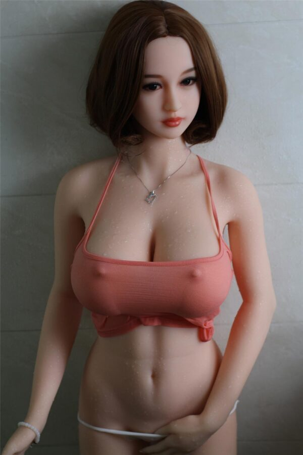 Sex doll with wet clothes
